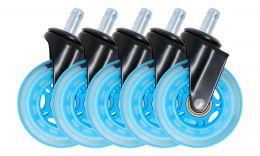 Roues Roller ORAXEAT RC750 Bleu