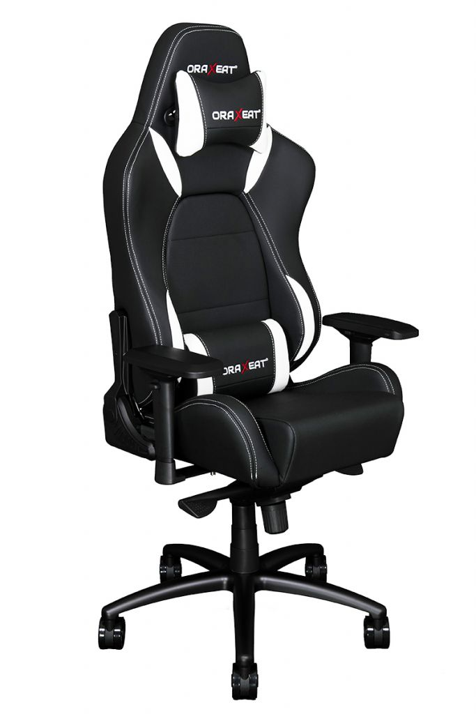 design intemporel 35858 0f458 Fauteuil / Siege Gamer ORAXEAT TK1000 - Blanc